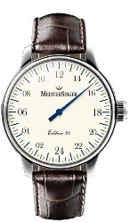 Meistersinger International 24h Watch Ivory