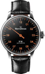 MeisterSinger No 03 Black / Copper