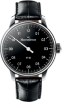 MeisterSinger No 01 38mm Black