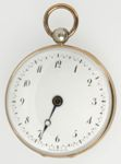 French Single Hand Pocket Watch